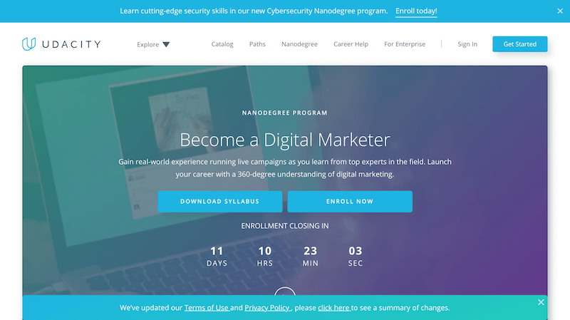Example 01 for the Udacity sales funnel
